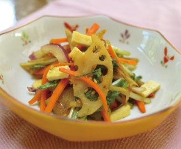 まんてんレシピ 第7回「根菜のきんぴらサラダ」
