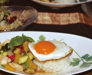 まんてんレシピ 第9回「夏野菜のガパオライス」