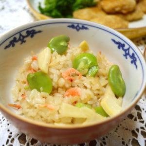 まんてんレシピ 第12回「春の香りの筍ご飯」