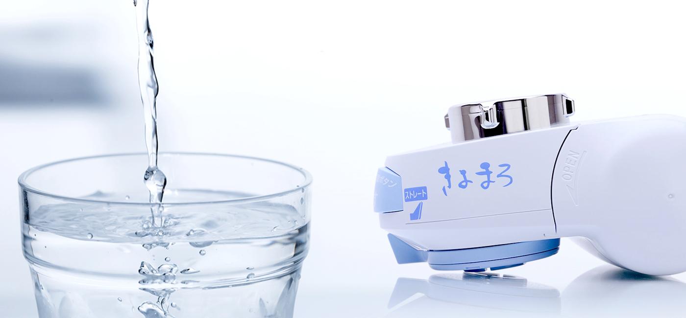 医薬品を扱う会社だからできる蛇口用浄水器 水から変える、自ら変える。